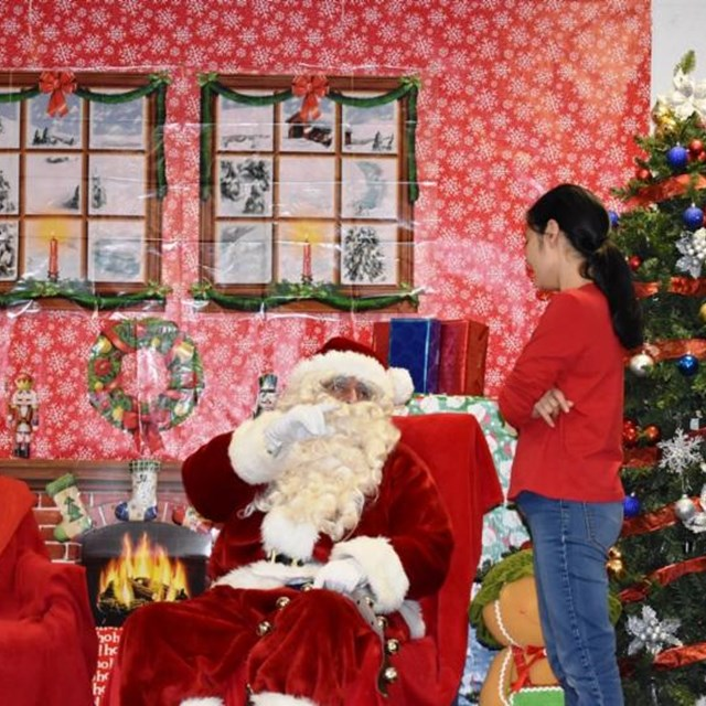 Monroe is proud to host its first annual holiday boutique that includes photos with Santa, vendors, and donating toys to the ABC 7 Spark of Love Toy Drive.