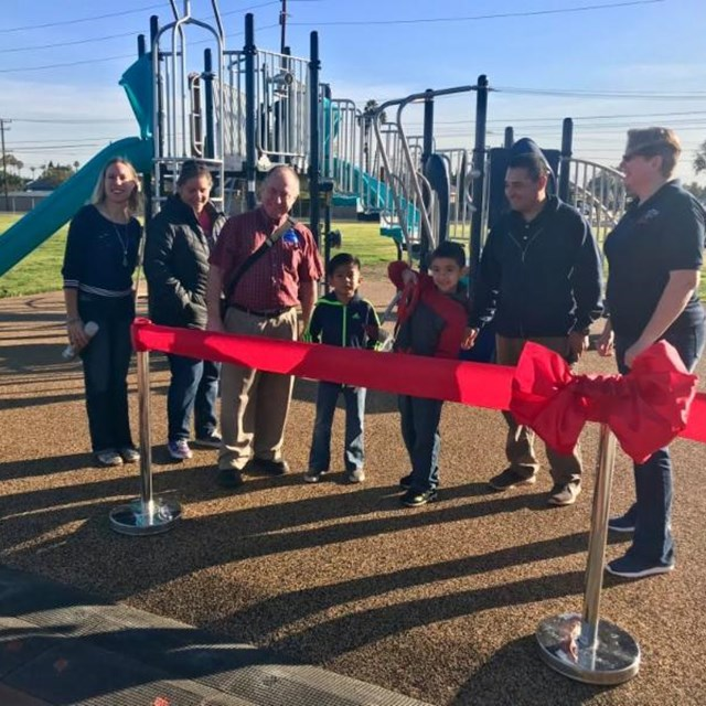 We recently unveiled our new playground equipment, which we're sure will add to the fun during recess!