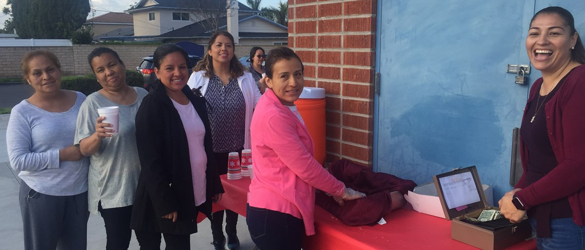Hot chocolate and pan dulce sale to benefit our Balet Folklorico program!
