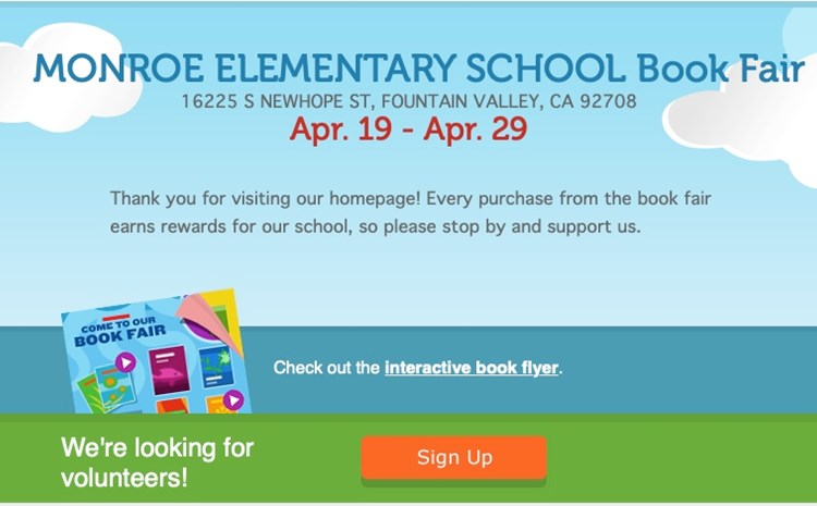 Book Fair is Coming to Monroe - article thumnail image
