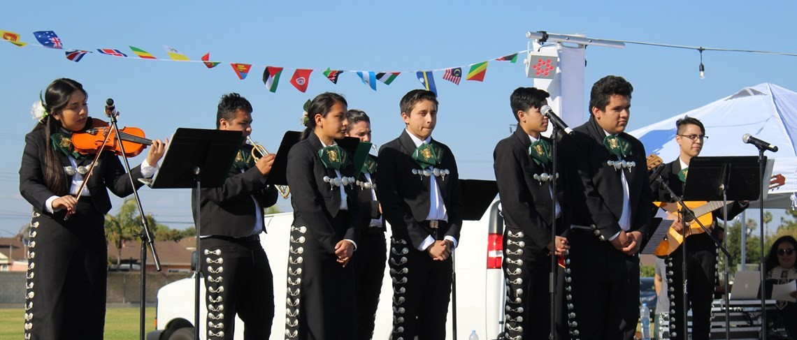 Thank you to the Rancho Alamitos H.S. Mariachi